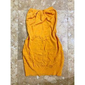 Arden B™ Mustard Yellow Mini Dress